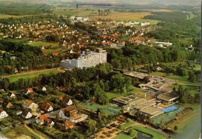 3118 Bad Bevensen Kurpark mit Diana-Klinik [1164] - €1.00 ...