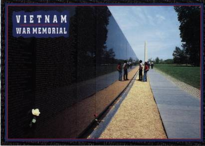 Washington D.C., Vietnam Veterans Memorial