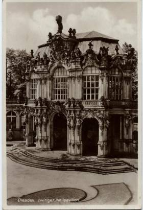 Dresden. Zwinger, Wallpavillon