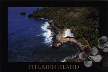 Pitcairn Island - The Landing Bounty Bay
