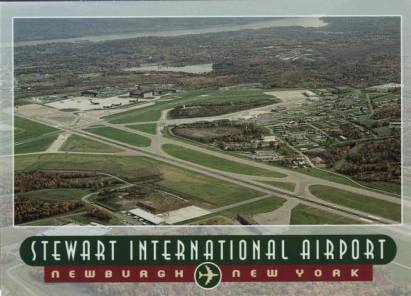 Stewart Internationaler Flughafen - Newburgh