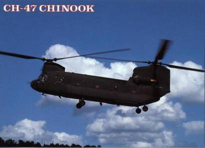 CH-47 Chinook Helikopter