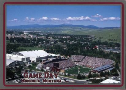 Missoula, Spieltag im Washington Grizzly Stadion