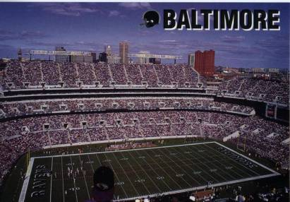 Baltimore, Football Stadion bei Camden Yards