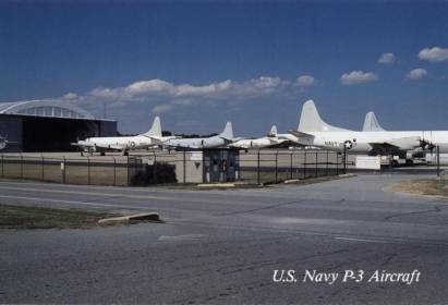 Patuxent River, Naval Air Station, US Navy P-3 Aircraft