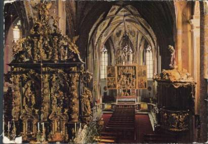 St.Wolfgang am See - Alte Kunst, Pacher Altar