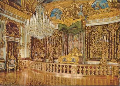Royal Castle Herrenchiemsee - State Bed-Room