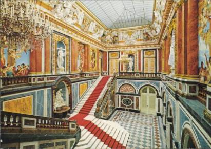 Royal Castle Herrenchiemsee - Staircase