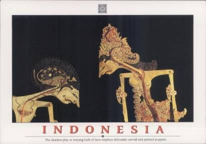 Indonesien, Java - Schattenspiel
