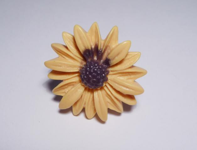 Ring Yellow Flower B-Stock